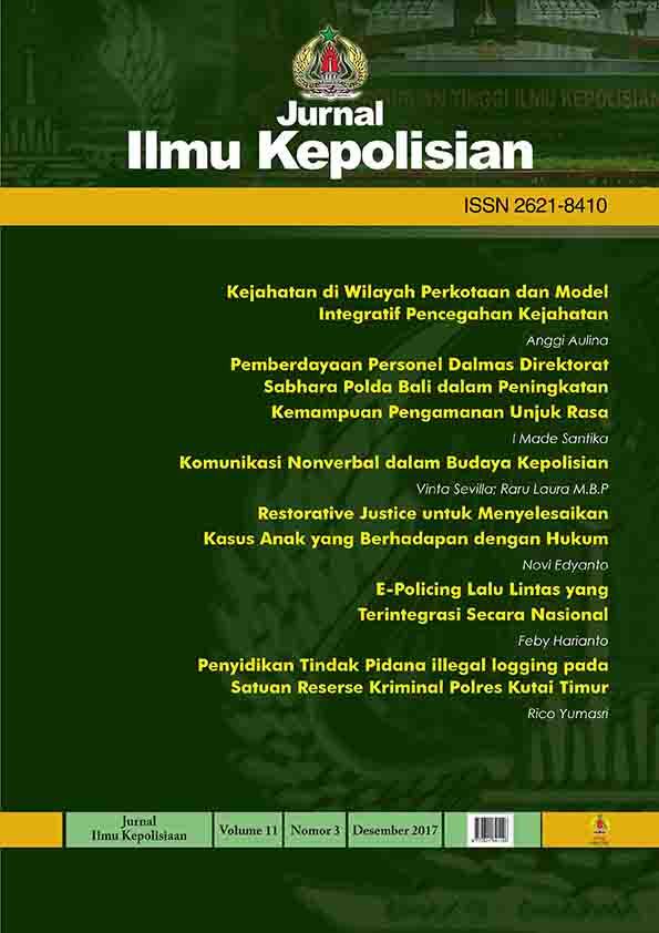 COVER JURNAL ILMU KEPOLISIAN_VOLUME11_NO.3.2017