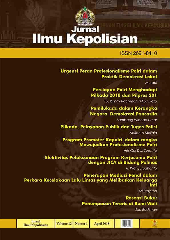 COVER JURNAL ILMU KEPOLISIAN_VOLUME12_NO.1
